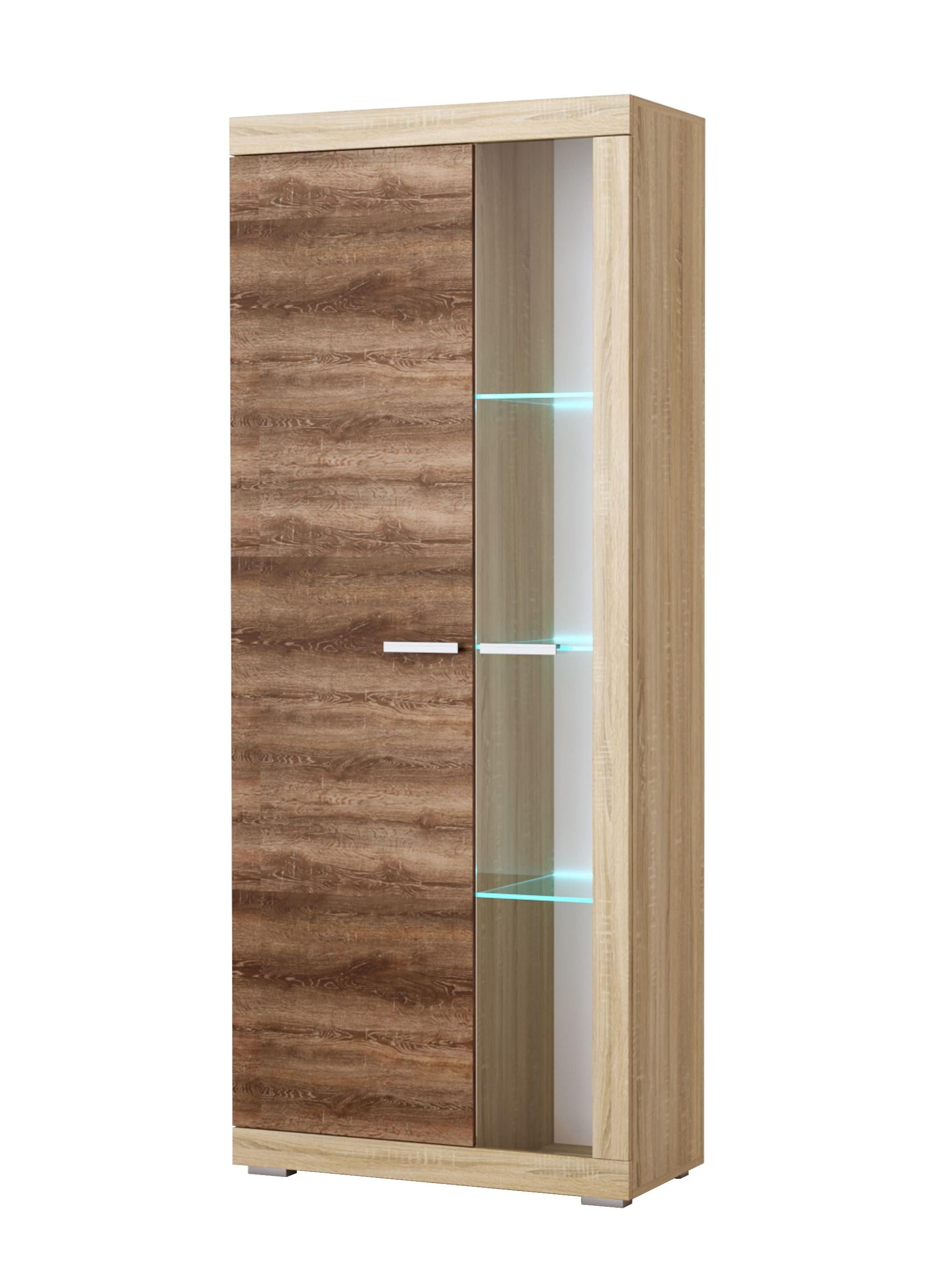 Гостиная Соната Шкаф-витрина ШВС-800