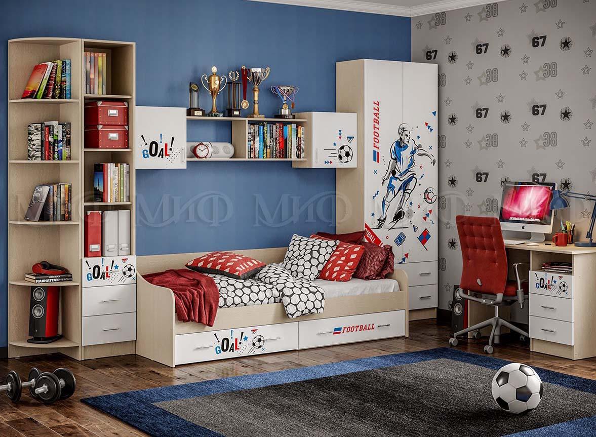 Детская Вега Boy Шкаф комбинированный
