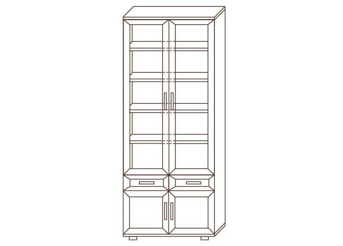 Шкаф №169 для книг