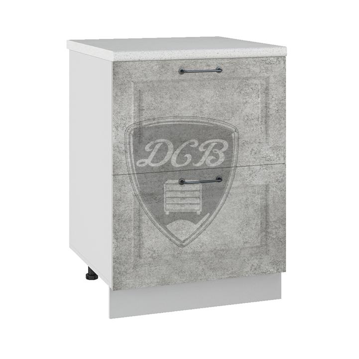 Кухня Капри КМЯ 600 Шкаф комод ящики с метабоксами