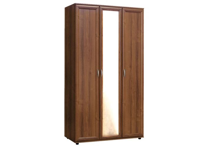 Шкаф №105 3-двери полки и штанга