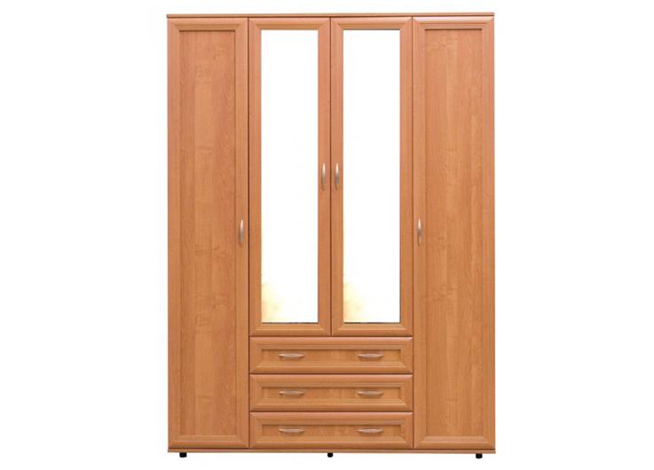 Шкаф №148 4-х дверный полки и штанга