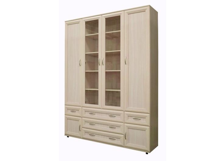 Шкаф №170 4-х дверный комбинированный