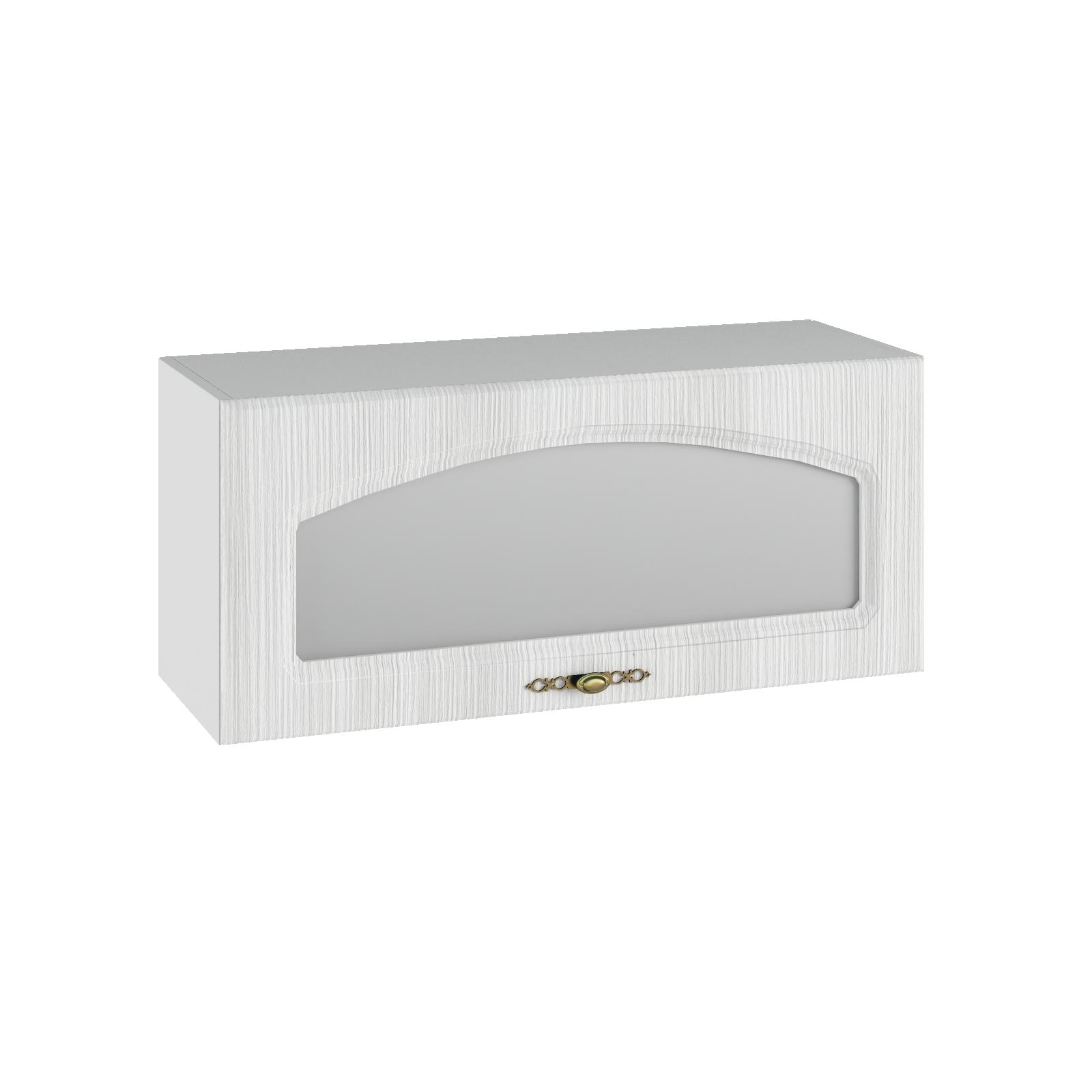 Кухня Монако ПГС 800 Шкаф верхний горизонтальный, стекло