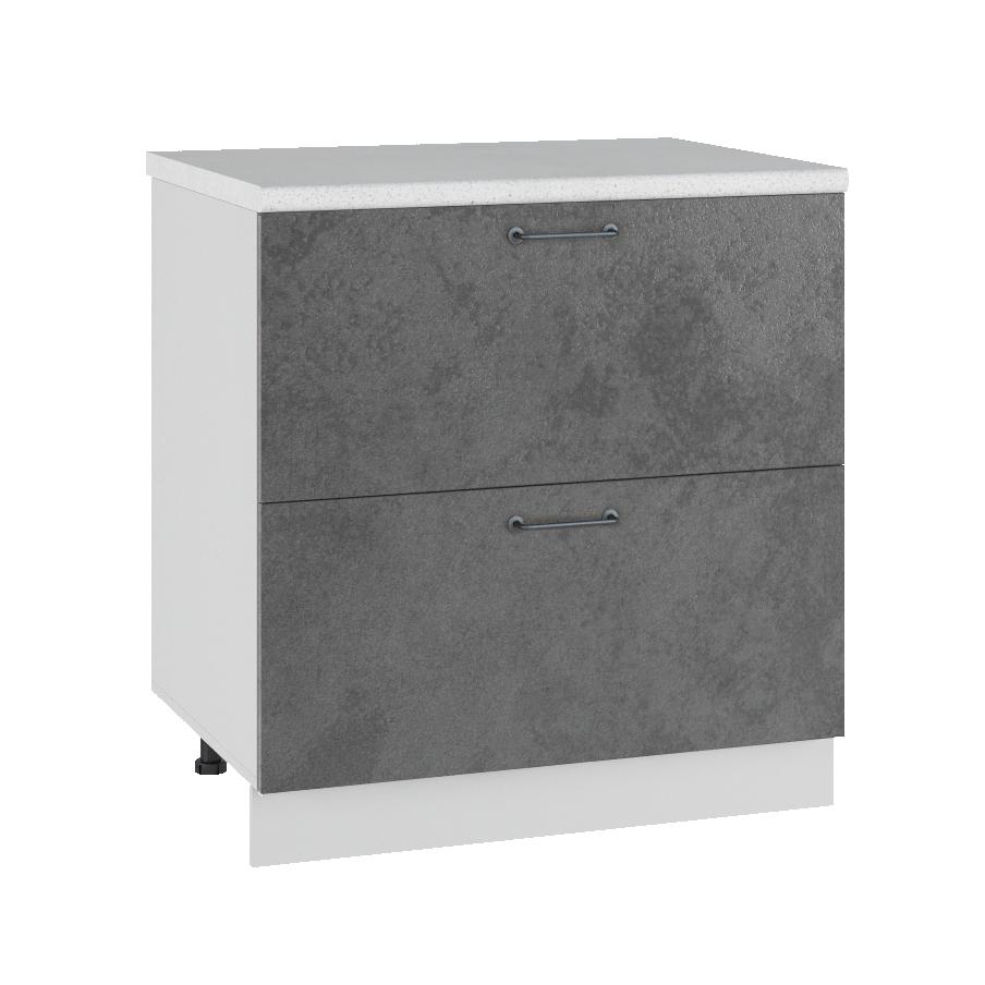 Кухня Лофт КМЯ 800 Шкаф нижний ящики с метабоксами