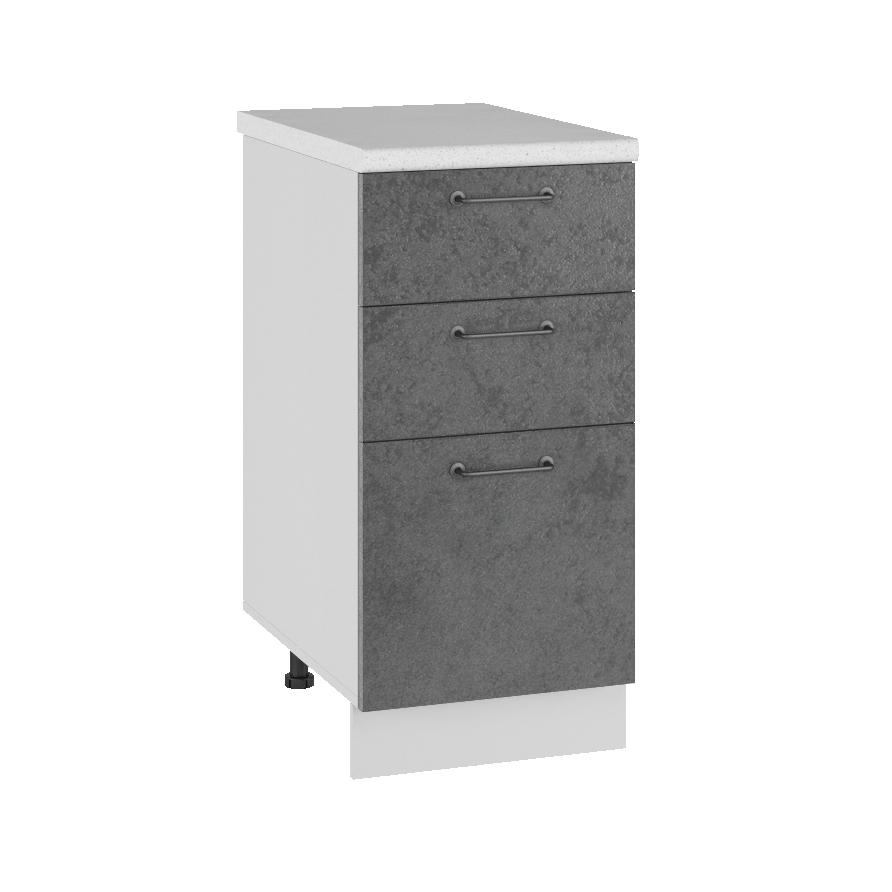 Кухня Лофт СМЯ 400 Шкаф нижний ящики с метабоксами
