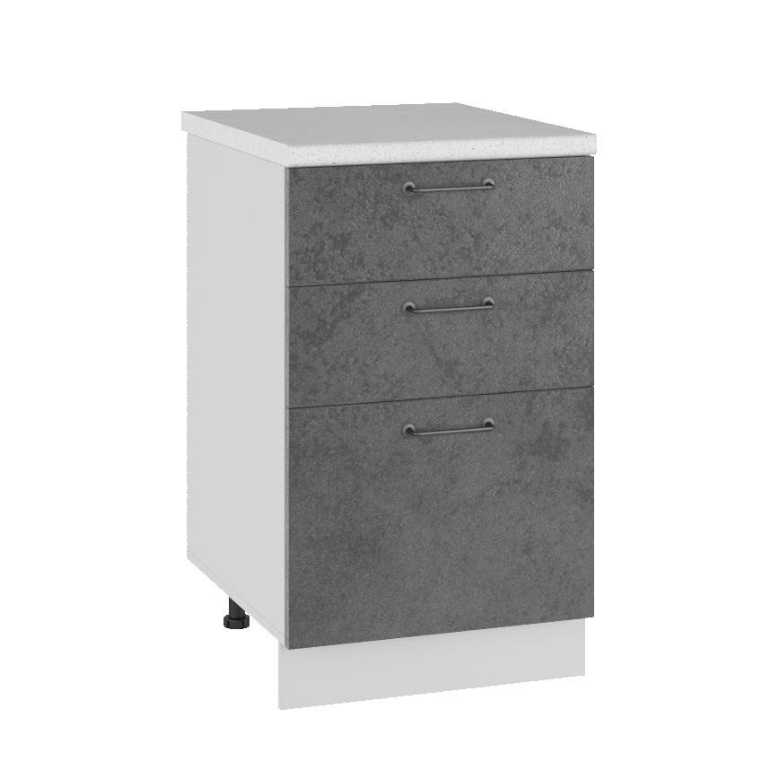 Кухня Лофт СМЯ 500 Шкаф нижний ящики с метабоксами