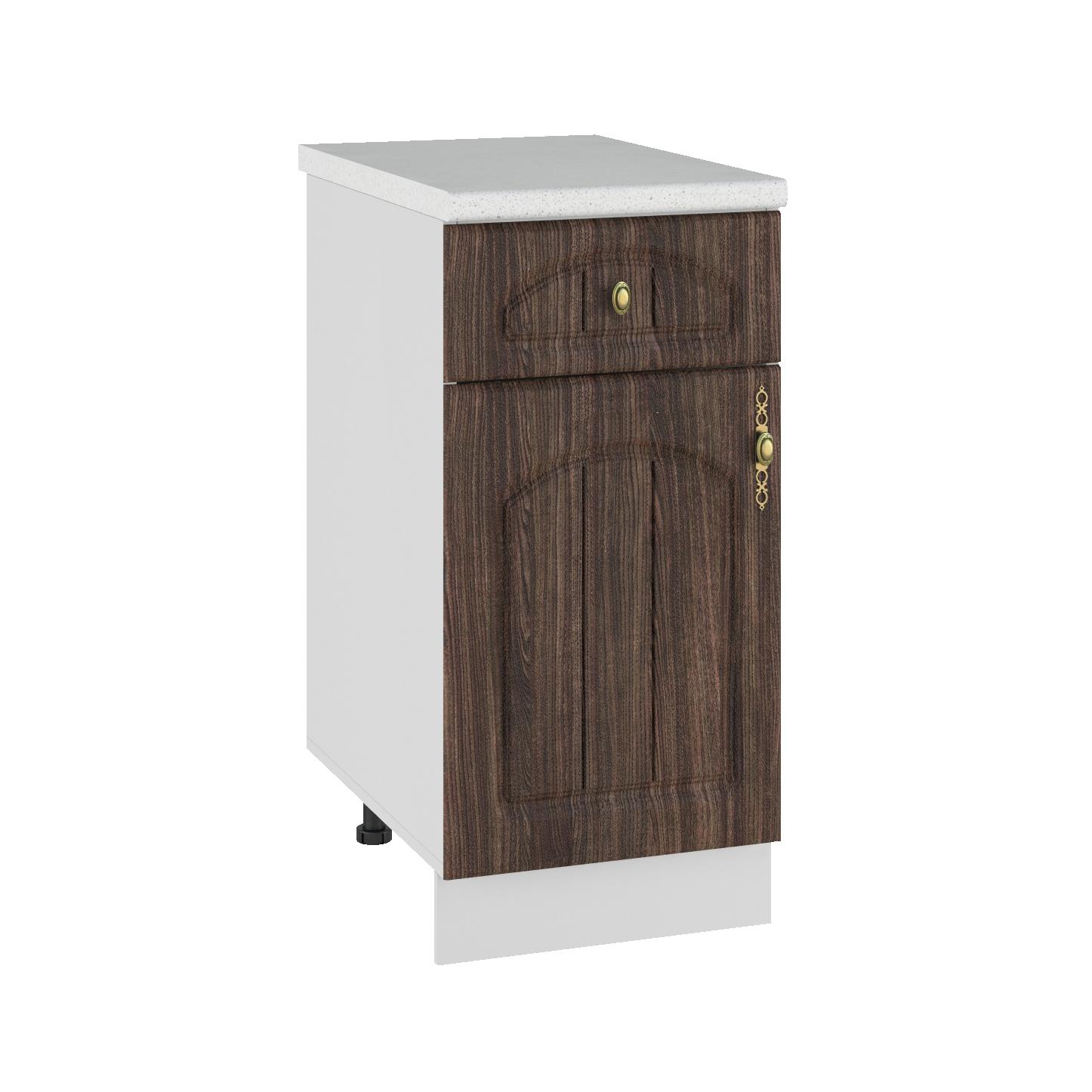 Кухня Монако С1Я 400 Шкаф нижний /1 ящик петли слева