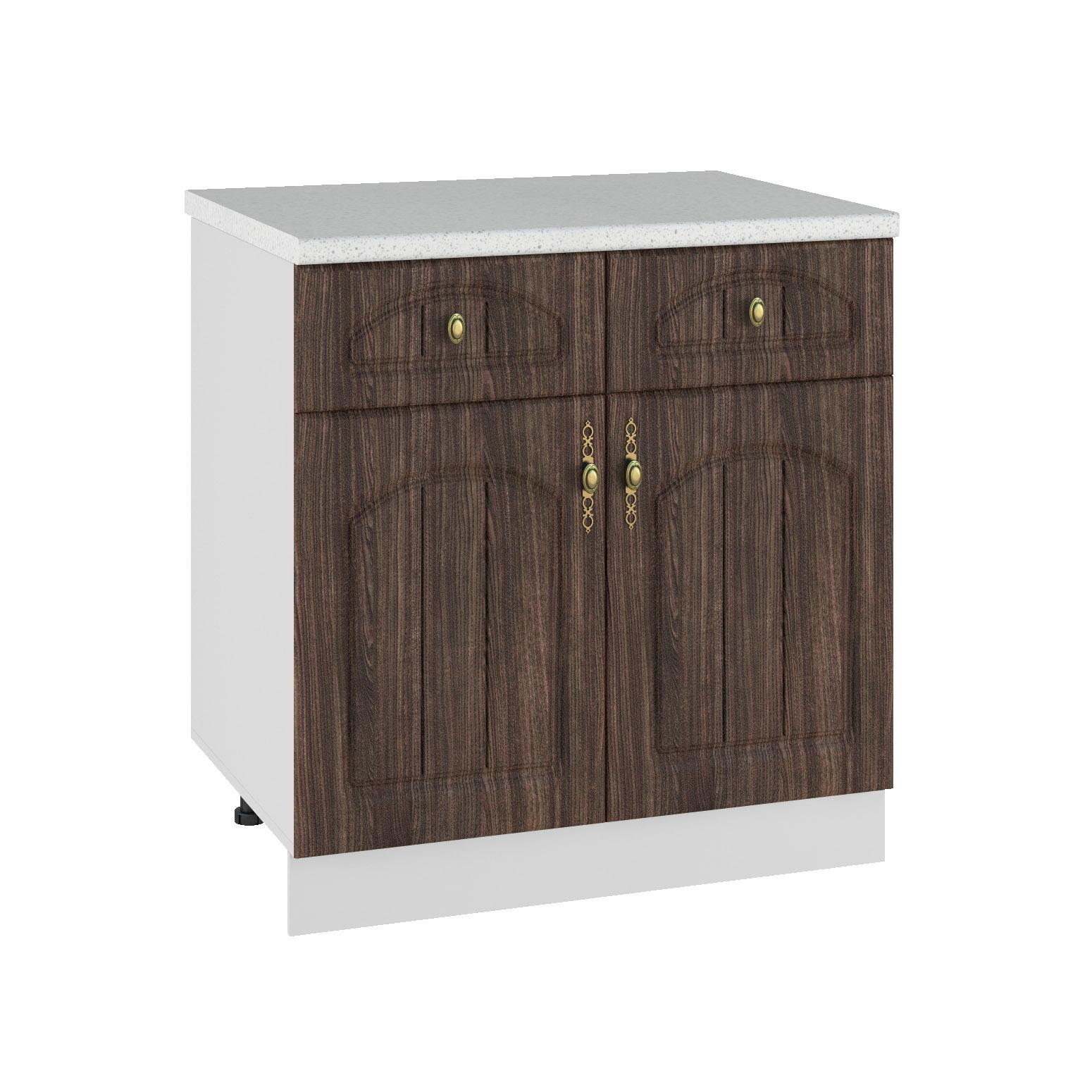 Кухня Монако С2Я 600 Шкаф нижний /2 ящика
