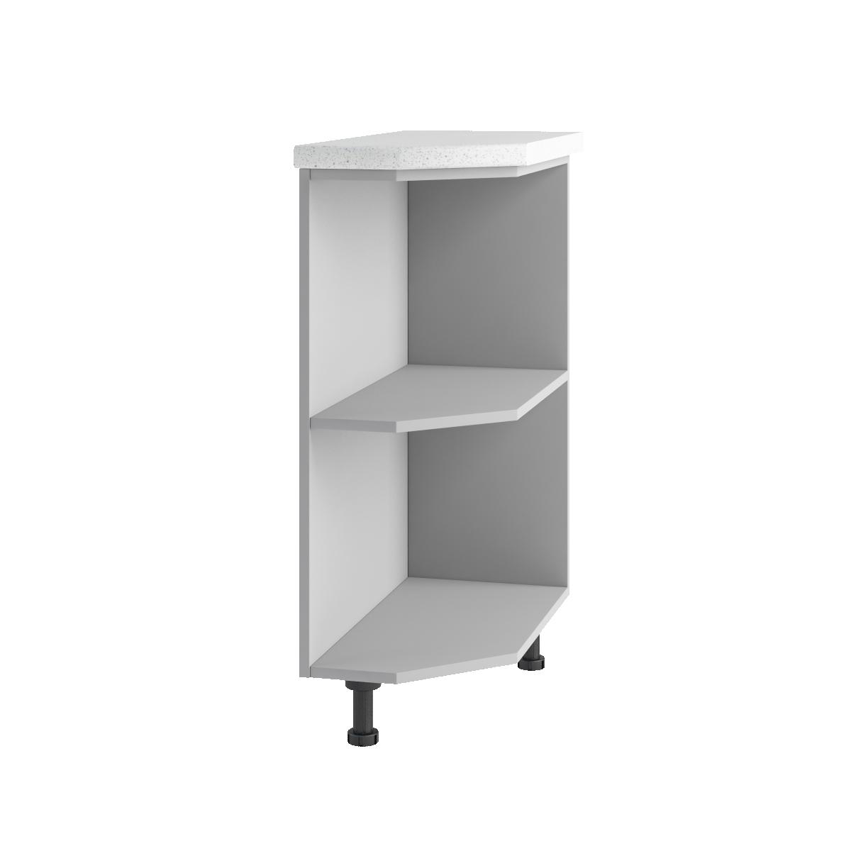 Кухня Монако СТУ 300 Шкаф нижний угловой Л/П