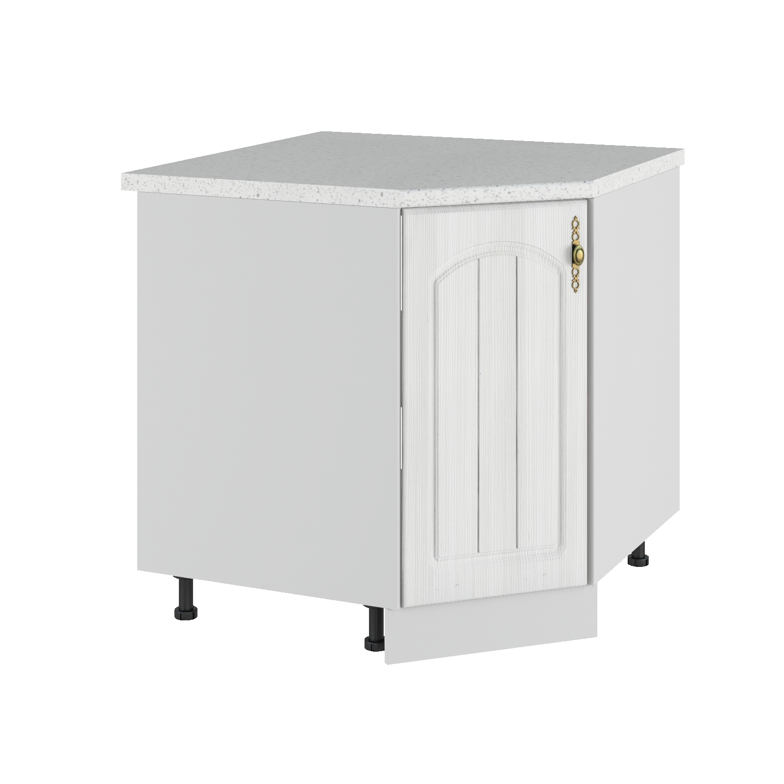 Кухня Монако СУ 850*850 Шкаф нижний угловой правый