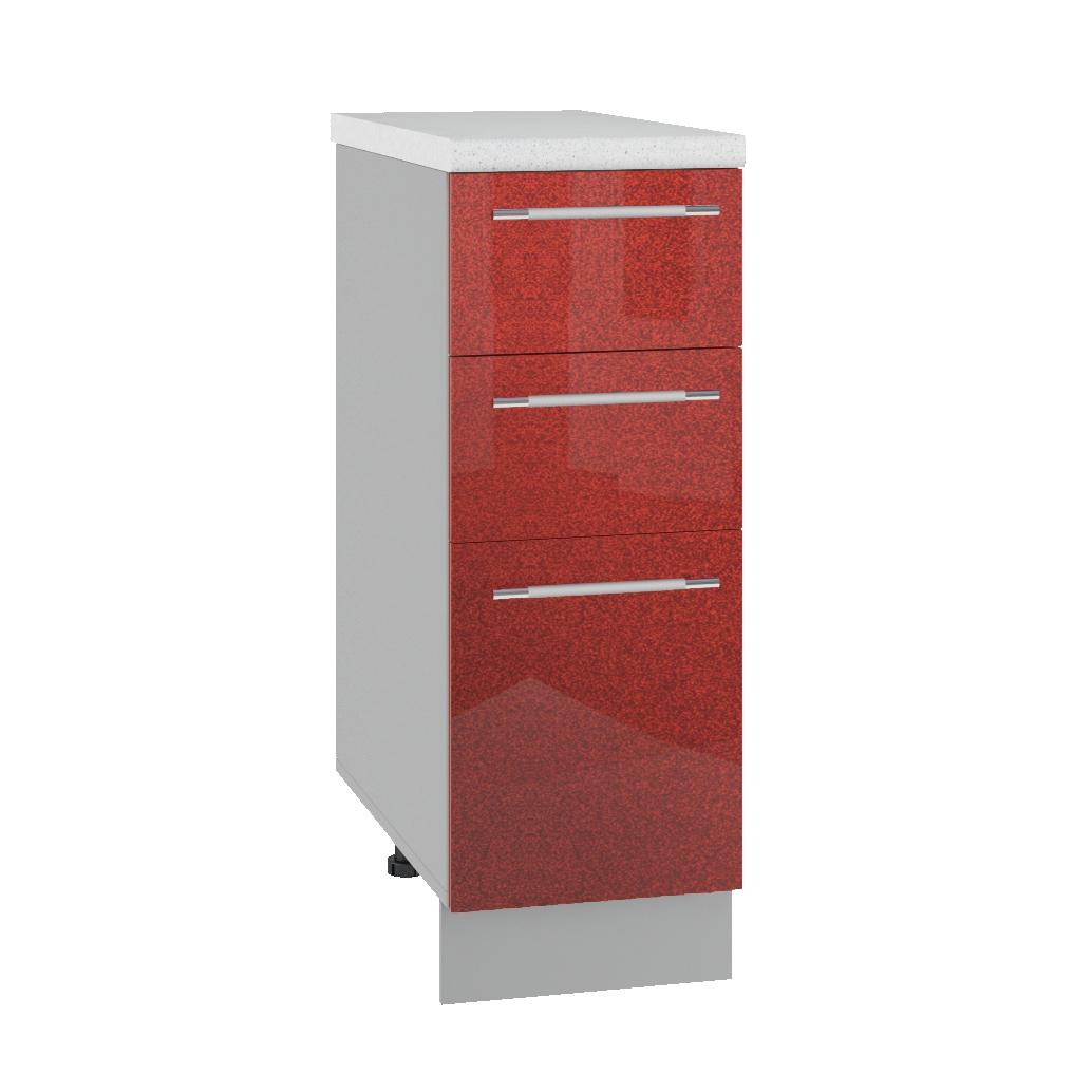 Кухня Олива СМЯ 300 Шкаф нижний ящики с метабоксами