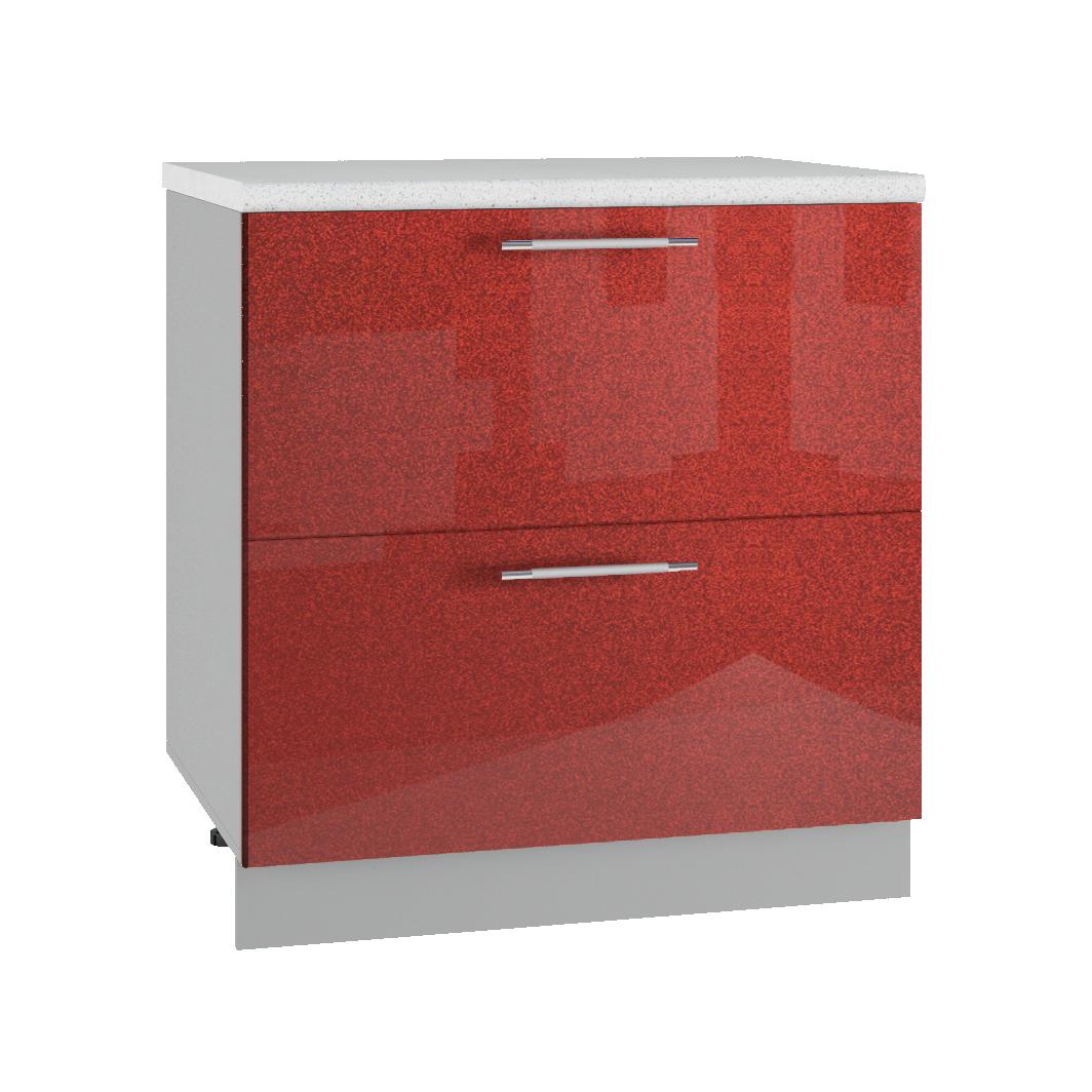 Кухня Олива КМЯ 800 Шкаф комод ящики с метабоксами