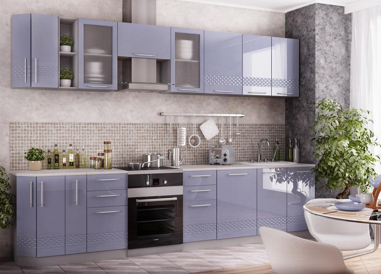 Кухня Капля 3D С 450 Шкаф нижний петли слева