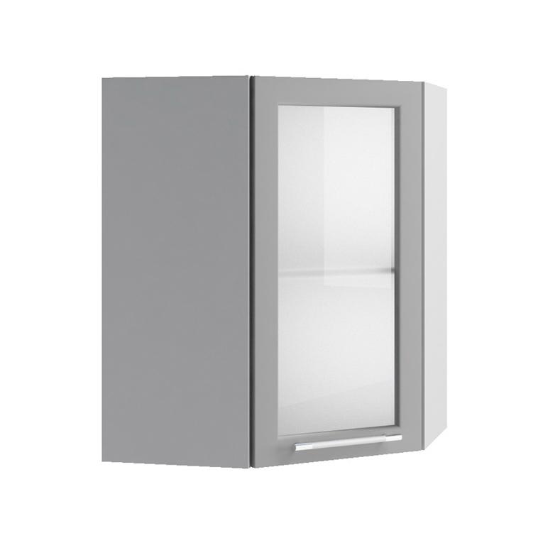 Кухня Орио Шкаф верхний ПУС 550 угловой стекло