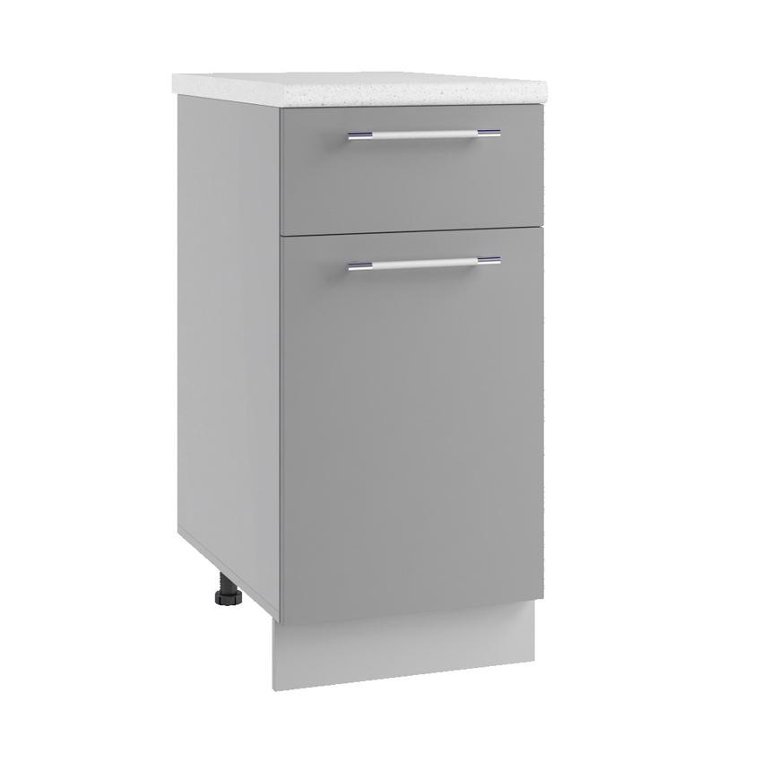 Кухня Орио Шкаф нижний С1Я 400 с ящиком