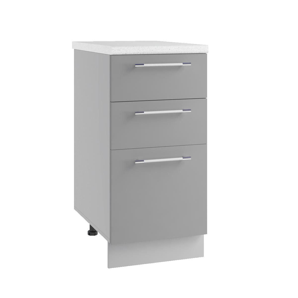 Кухня Орио Шкаф нижний СЯ 400 с ящиками