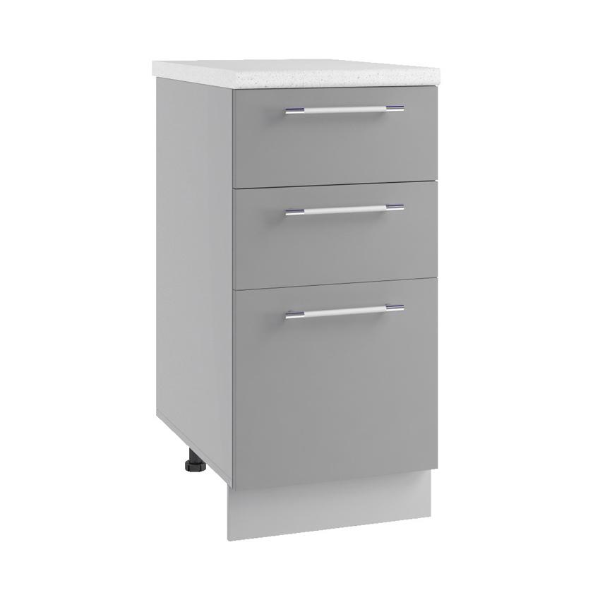 Кухня Орио Шкаф нижний СЯ 300 с ящиками