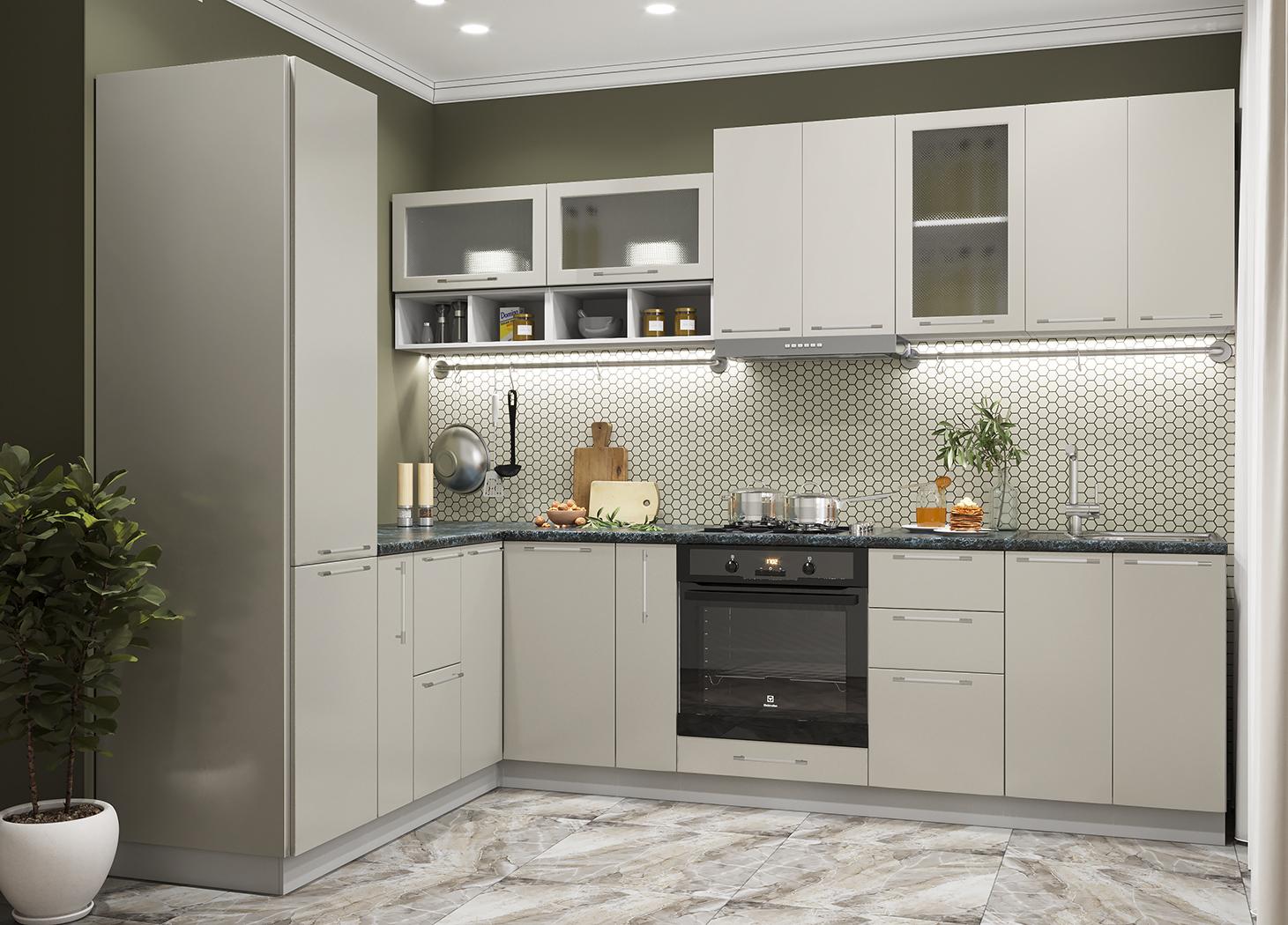 Кухня Олива 2100*2800