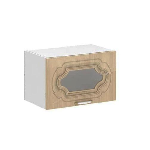 Кухня Настя ШВГС 600 Шкаф верхний горизонтальный стекло