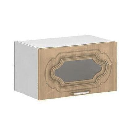 Кухня Настя ШВГС 800  Шкаф верхний горизонтальный стекло