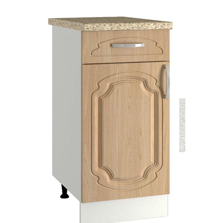 Кухня Настя ШН1Я 400 Шкаф нижний  с 1 ящиком
