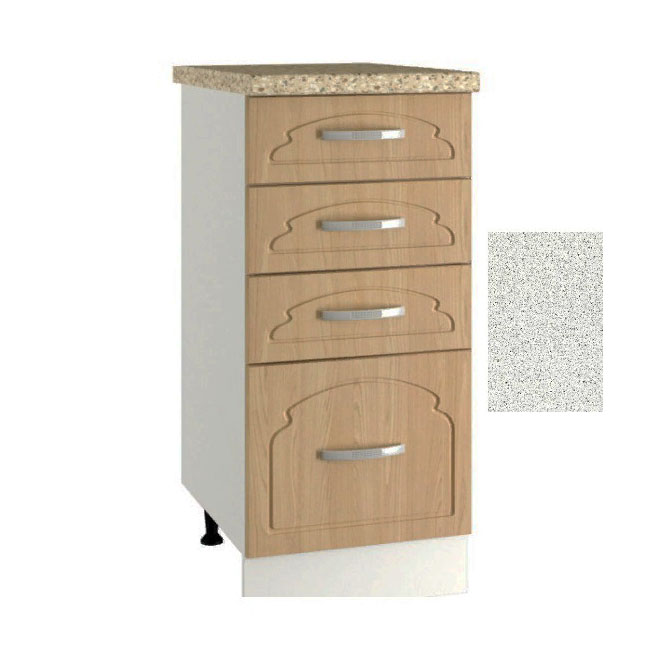 Кухня Настя ШНЯ 300  Шкаф нижний с 4 ящиками