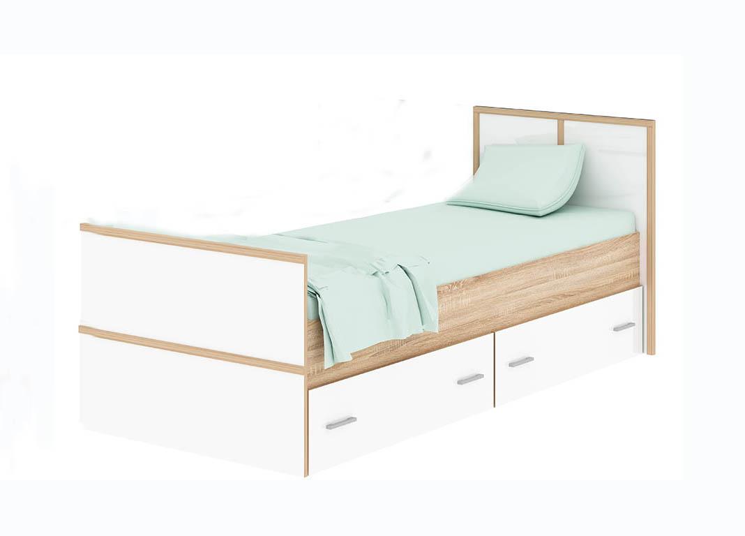 Спальня Сакура Кровать 900 с ящиками