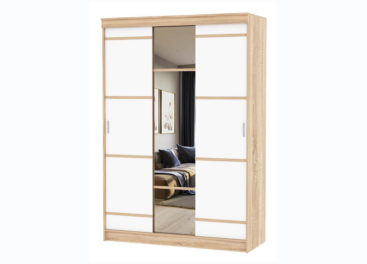 Спальня Сакура Шкаф-купе 3-х створчатый