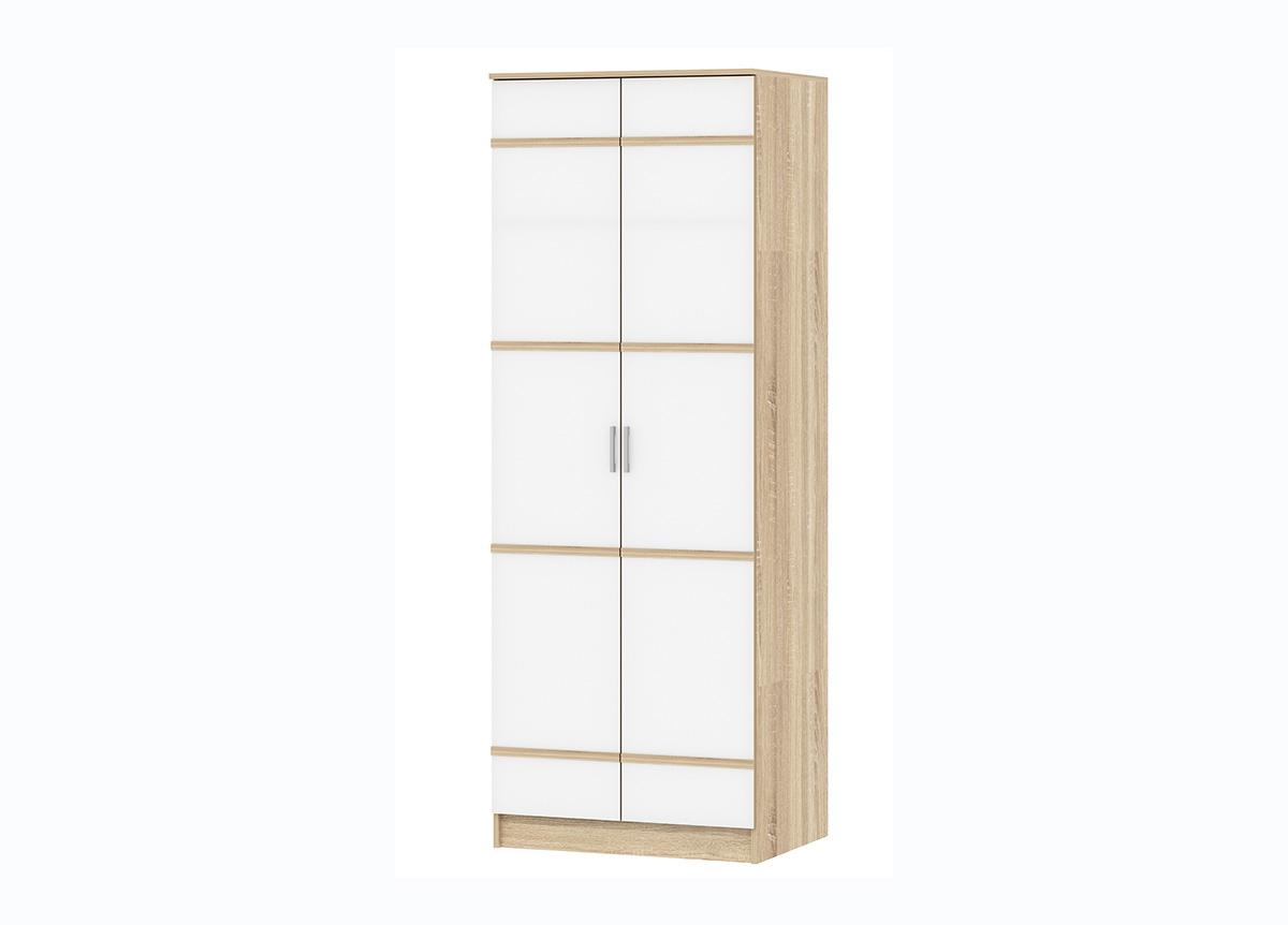 Спальня Сакура Шкаф 2-х дверный со штангой