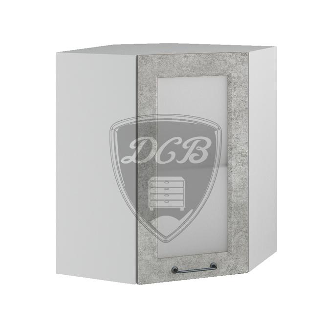 Кухня Капри ПУС 550 Шкаф верхний угловой стекло