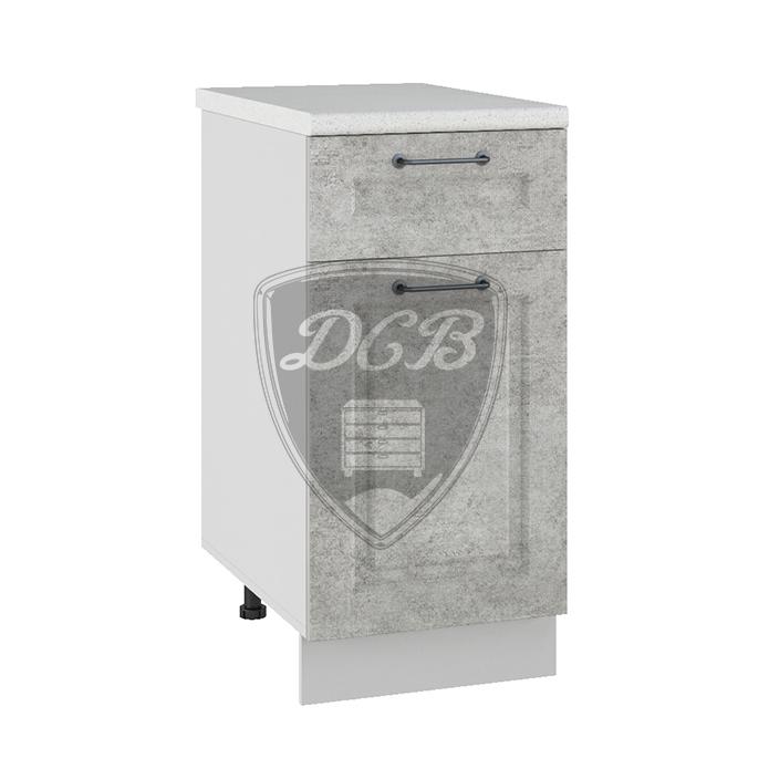 Кухня Капри С1Я 400 Шкаф нижний с ящиком
