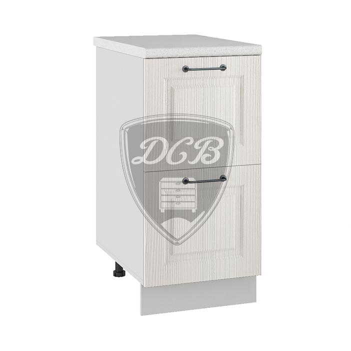 Кухня Капри СК2 400 Шкаф нижний комод 2 ящика