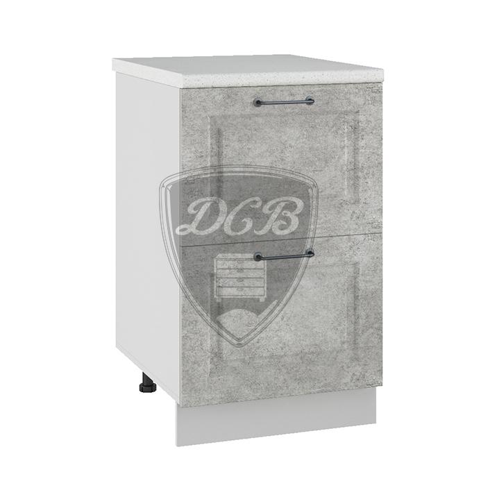 Кухня Капри СК2 500 Шкаф нижний комод 2 ящика