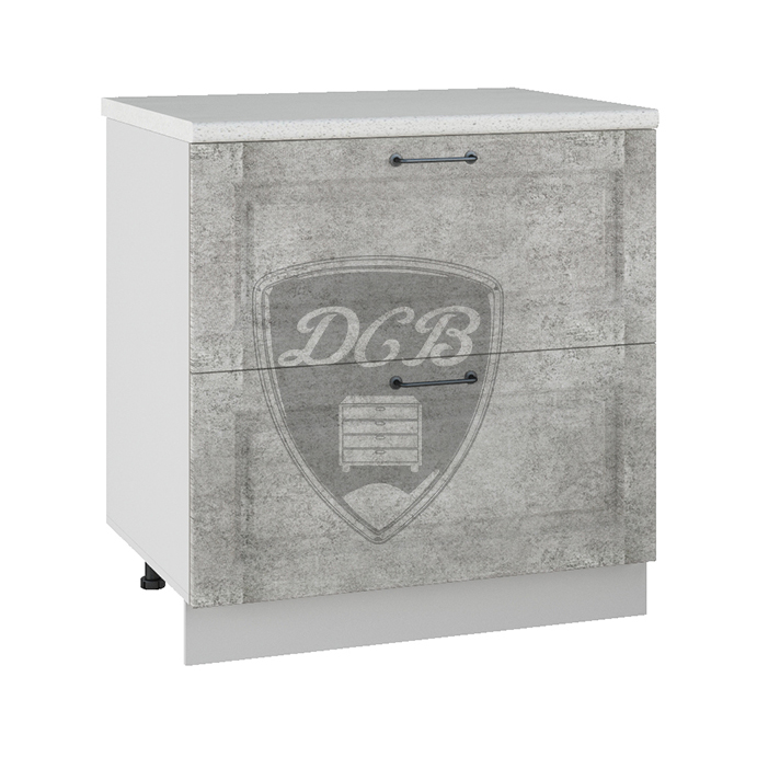 Кухня Капри СК2 800 Шкаф нижний комод 2 ящика