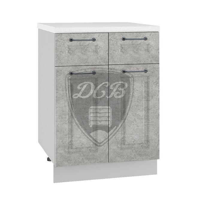 Кухня Капри С2Я 600 Шкаф нижний с 2 ящиками