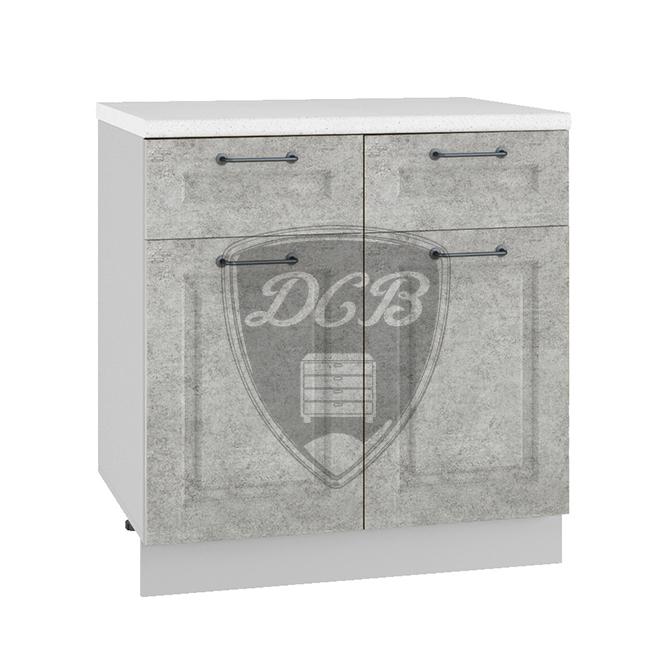 Кухня Капри С2Я 800 Шкаф нижний с 2 ящиками