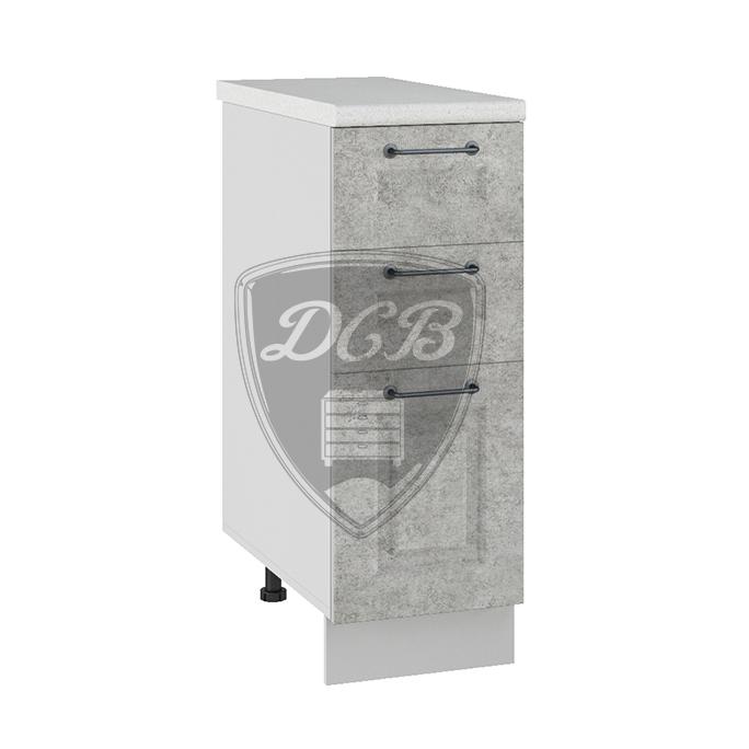 Кухня Капри СЯ 300 Шкаф нижний с 3 ящиками