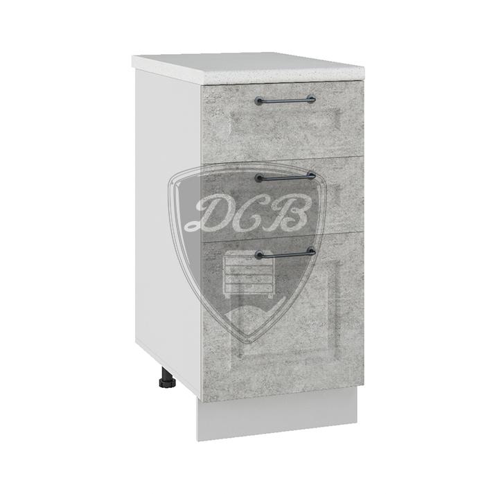 Кухня Капри СЯ 400 Шкаф нижний с 3 ящиками