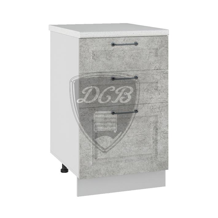 Кухня Капри СЯ 500 Шкаф нижний с 3 ящиками