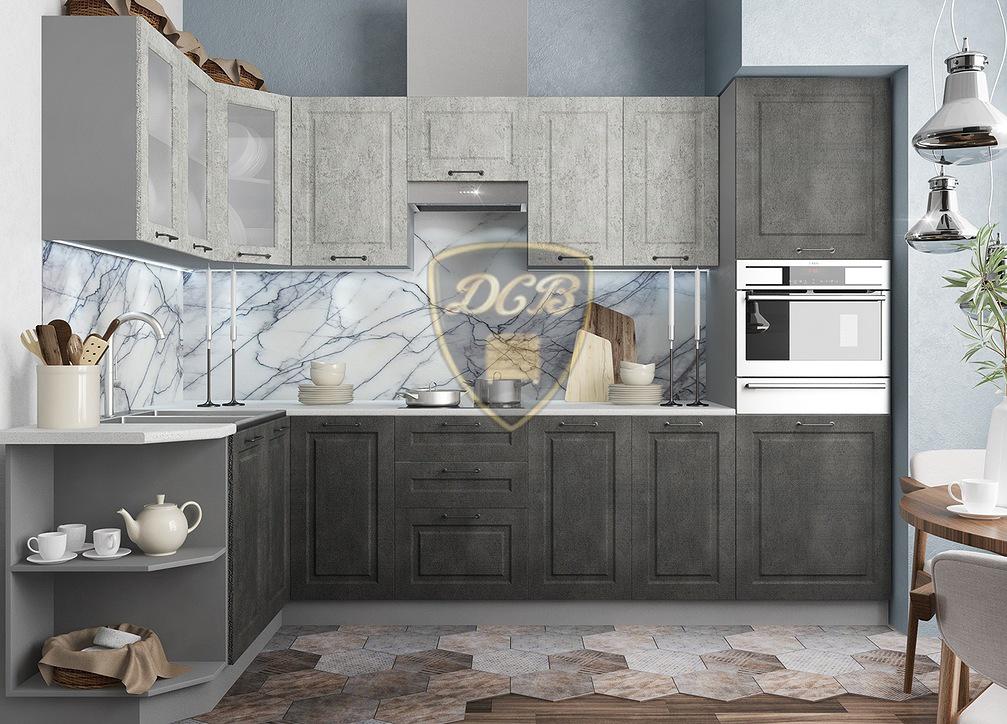 Кухня Капри СУ 1000 Шкаф нижний угловой проходной