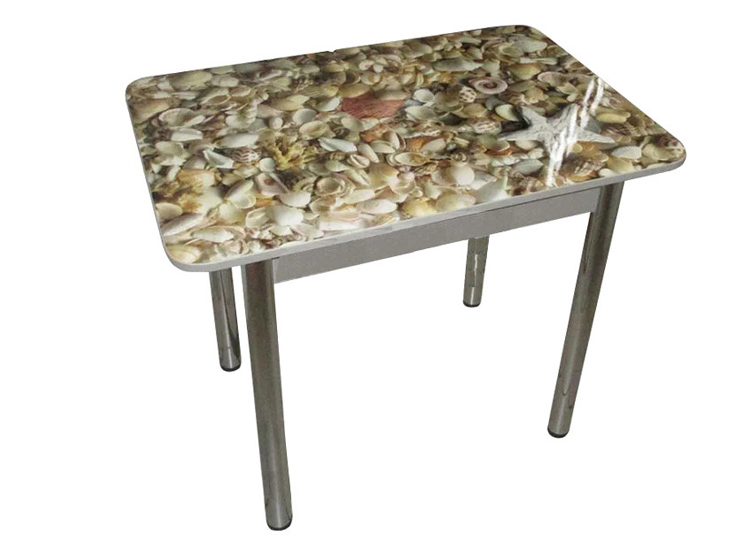 Стол прямоугольный Ракушки 600*900