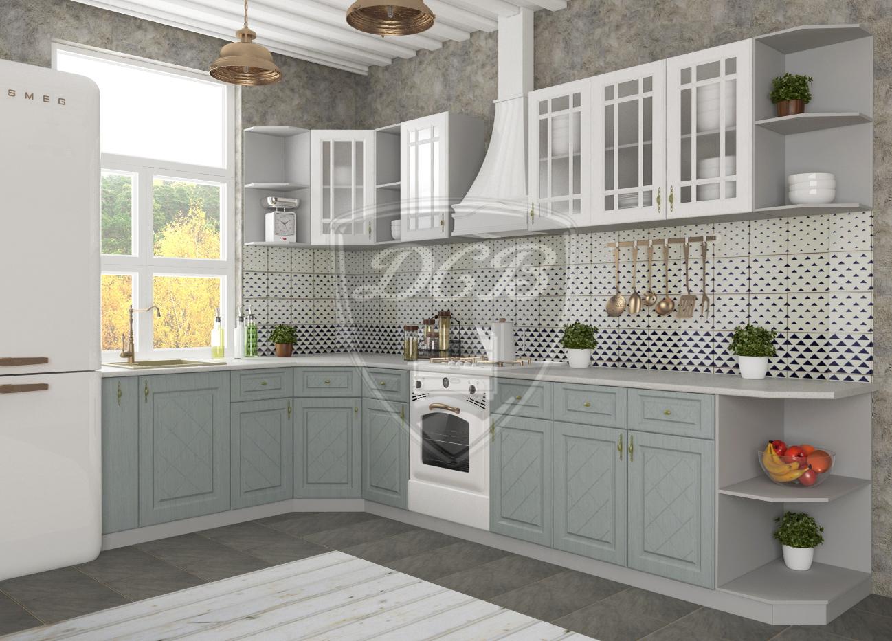 Кухня Гранд СТУ 300 Шкаф нижний полка угловая