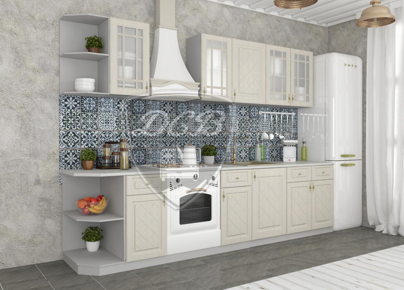 Кухня Гранд ПУ 550 Шкаф верхний угловой