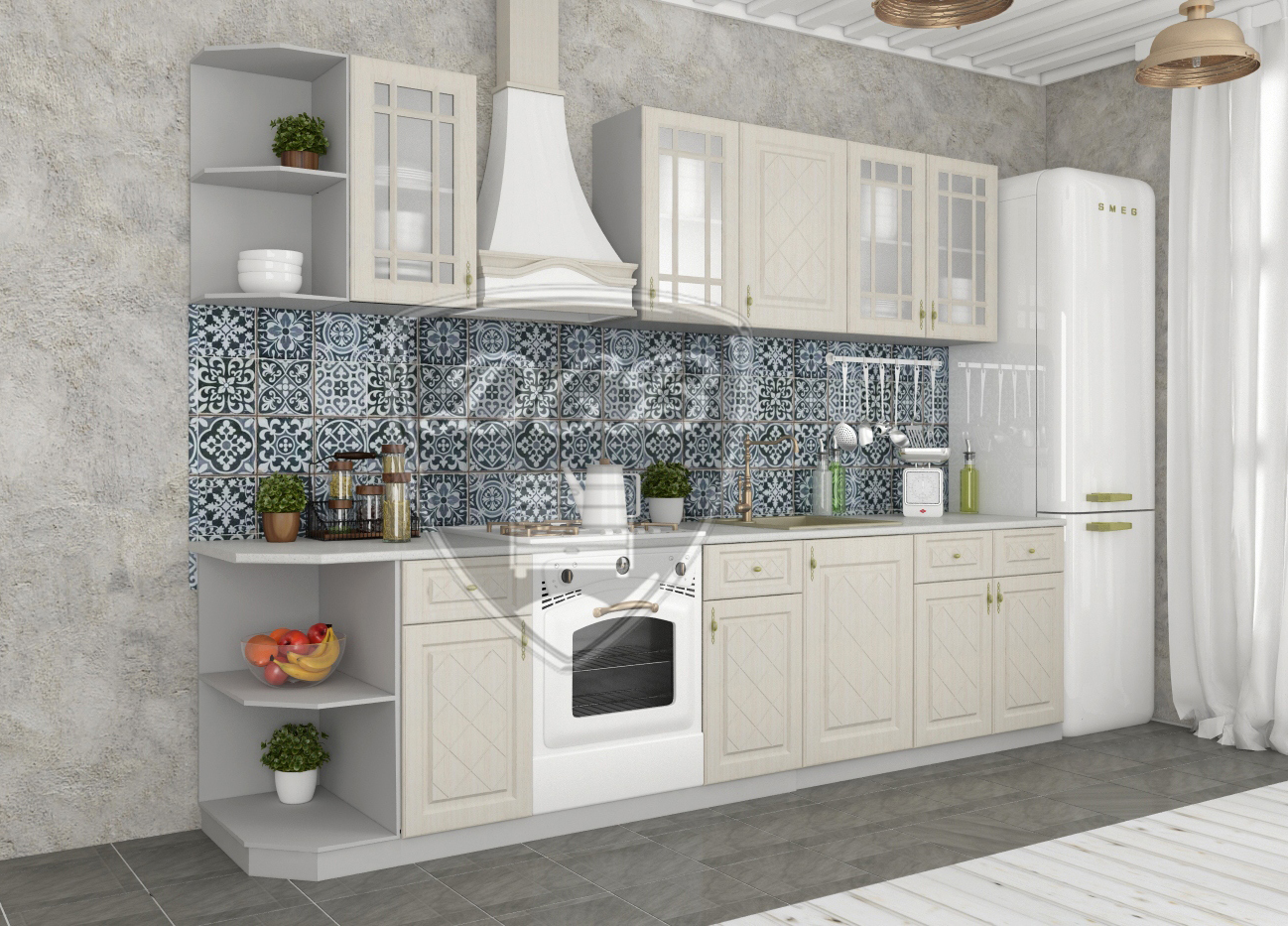 Кухня Гранд С 450 Шкаф нижний