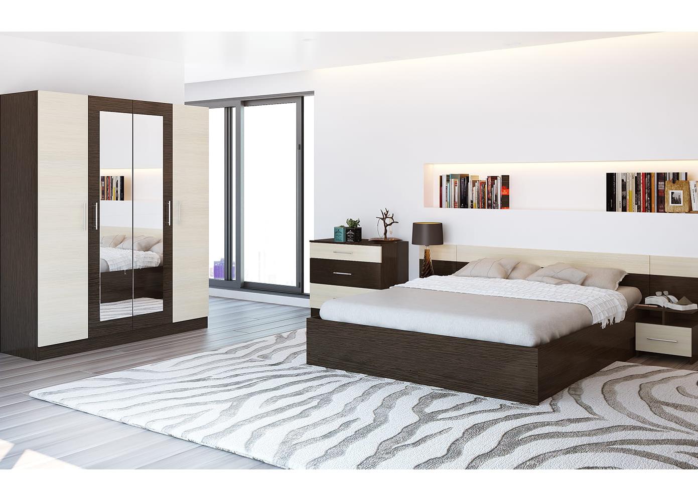 Спальня Уют + шкаф 1,6