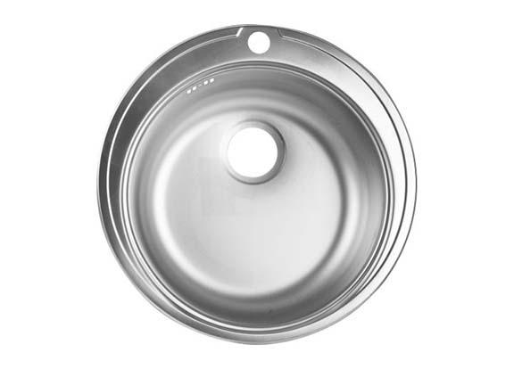 Мойка врезная круглая 510 мм