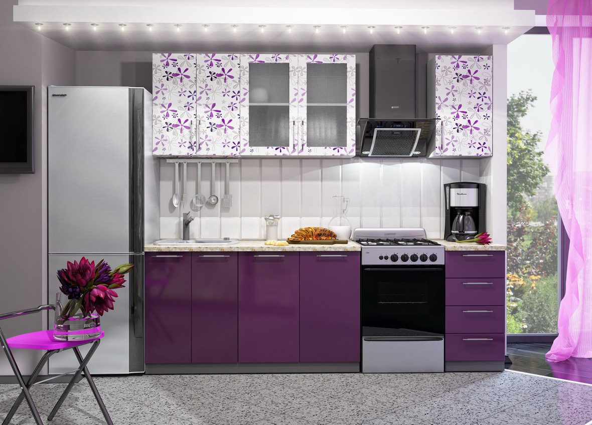 Кухня Флора ПГ 500 Шкаф верхний горизонтальный
