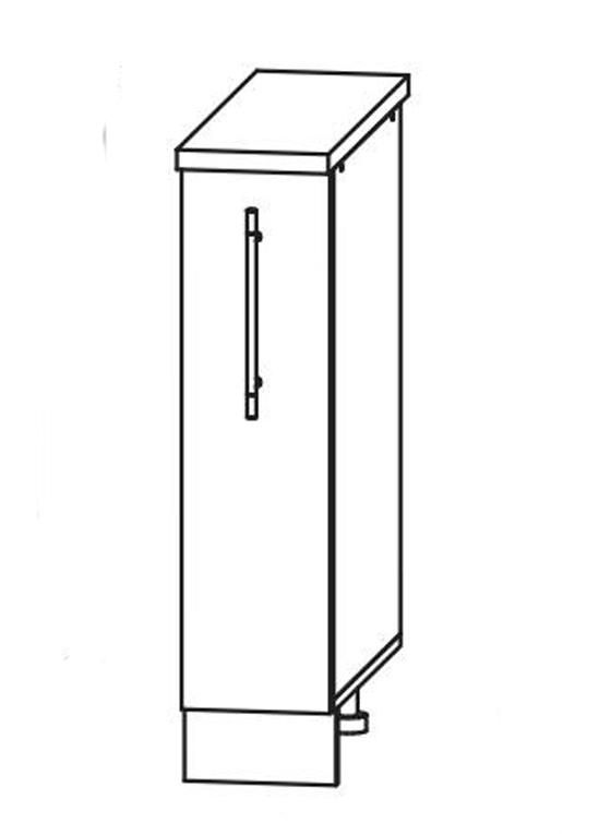 Кухня Ницца Шкаф нижний бутылочница 200