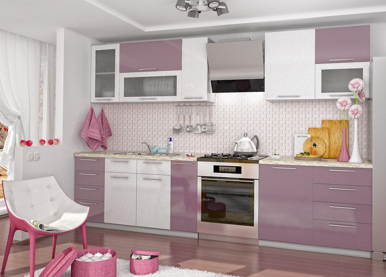 Кухня Олива ПГС 500 Шкаф верхний горизонтальный, стекло